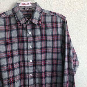 UNTUCKit button down long sleeve shirt slim S